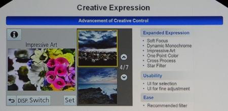 G5 a některé snadno použitelné funkce podporující tvorbu