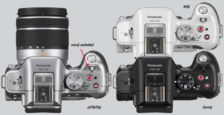 Lumix G5 - nový ovladač