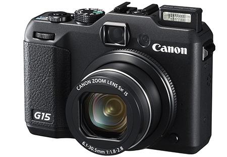 Canon PowerShot G15 - výsuvný miniblesk