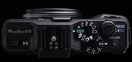 Canon PowerShot G15 shora