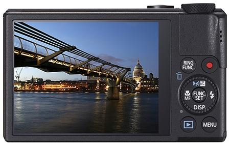 Canon PowerShot S110 - displej