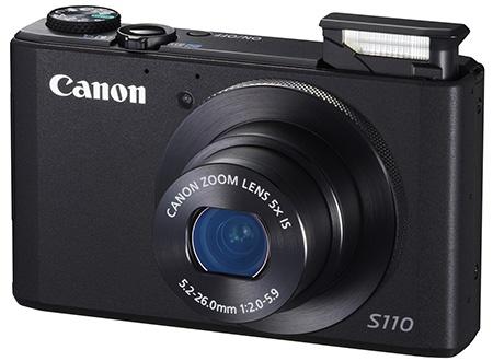Canon PowerShot S110 - blesk