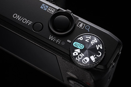 Canon PowerShot S110 - volič režimů