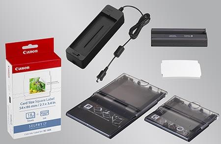 Canon SELPHY CP900 - zásobníky, media, příslušenství