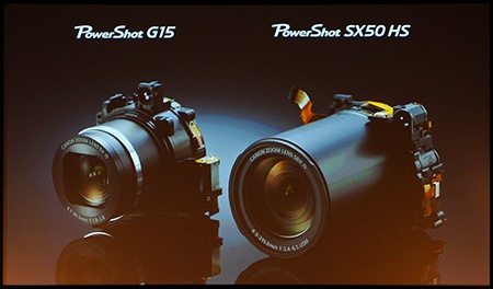 nové objektivy pro Canon PowerShot SX50 HS a G15