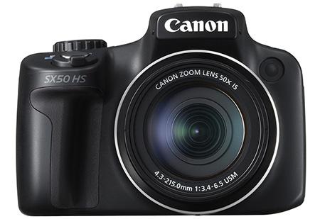Canon PowerShot SX50 HS - en face