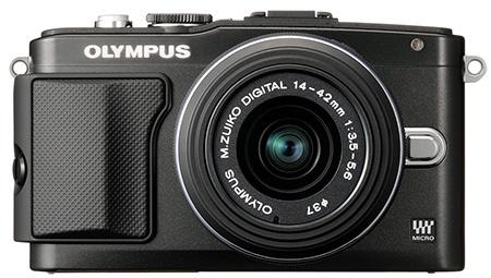 Olympus Pen E-PL5 - klasická černá verze