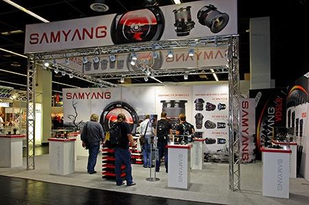 Samyang na výstavě Photokina 2012