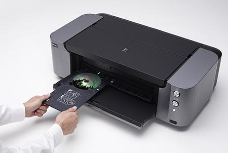 Canon PIXMA PRO-100 - potisk disku