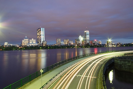 Lensbaby Spark: Boston City Flow
