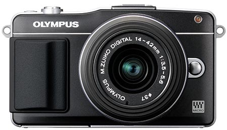 Olympus PEN Mini E-PM2 - klasicky černý