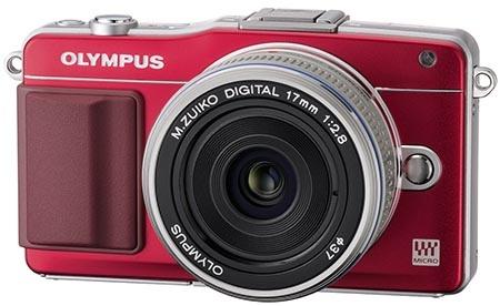 Olympus PEN Mini E-PM2 s tenkým 17mm objektivem