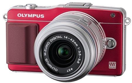 Olympus PEN Mini E-PM2 s kitovým zoomem