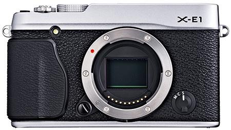 Fujifilm X-E1 - bajonet