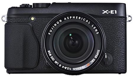 Fujifilm X-E1 a objektiv Fujinon XF 18-55 mm
