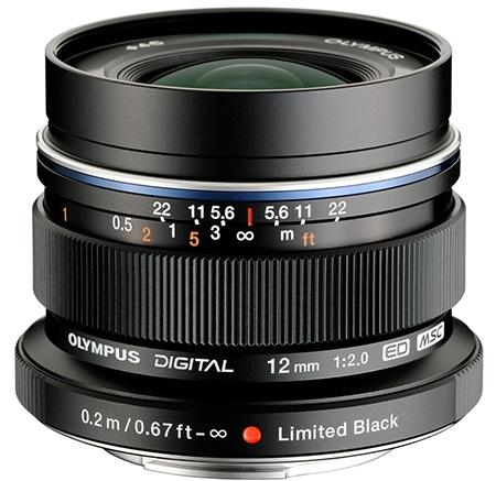 M.Zuiko Digital ED 12 mm 1:2,0 MSC Limited Black