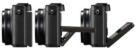Olympus Stylus XZ-2 iHS - výklopný displej