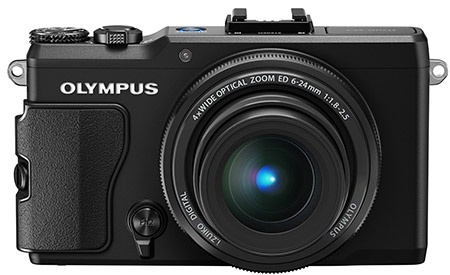 Olympus Stylus XZ-2 iHS - en face