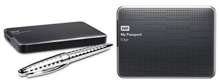 Western Digital My Passport Edge s propiskou