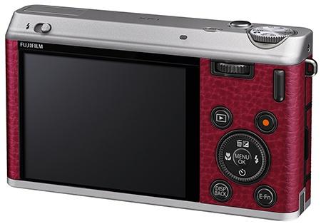 Fujifilm XF1 - zadní stěna