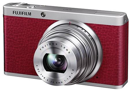 Fujifilm XF1 červený