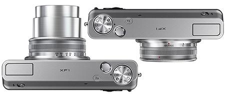Fujifilm XF1 - shora