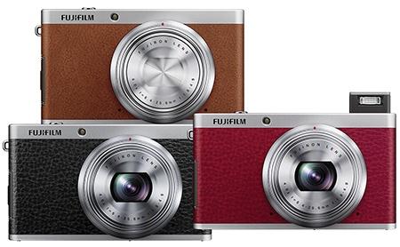 Fujifilm XF1 - tři barvy