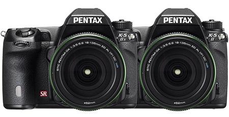 Pentax K-5 II a K-5 IIs