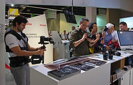 Pentax Ricoh Imaging: Photokina 2012 - II
