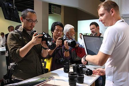 Pentax Ricoh Imaging: Photokina 2012 - III