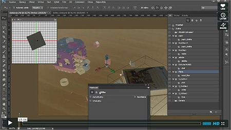 CINEMA 4D R14 – import do Adobe Photoshop Extended