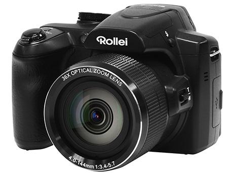Rollei PowerFlex 360 Full HD - 3/4 pohled z lehkého nadhledu