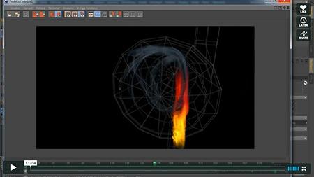 CINEMA 4D – simulace tepelné výměny I
