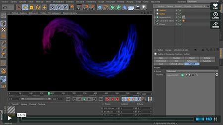 CINEMA 4D – simulace tepelné výměny II