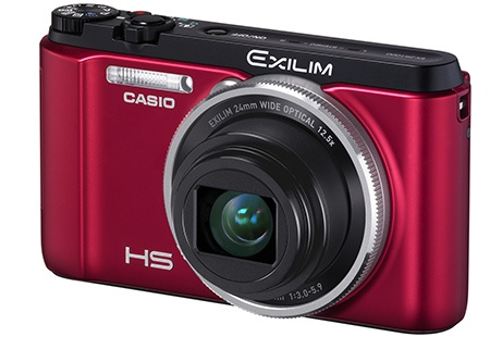 Casio Exilim EX-ZR1000 - červený