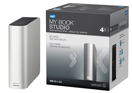 WD My Book Studio s USB 3.0