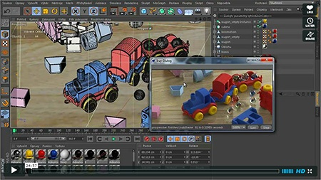 Cinema 4D - XIII - iRay - video na Vimeo.com