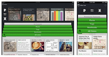 Evernote – aktualizace na v 5.0 pro Mac i iOS