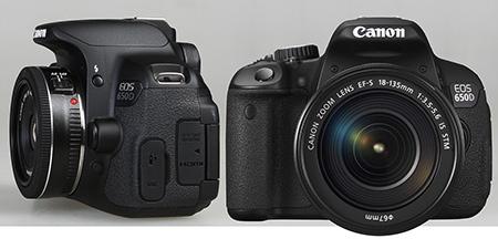 Canon EOS 650D a objektivy 40 a 18-135 mm