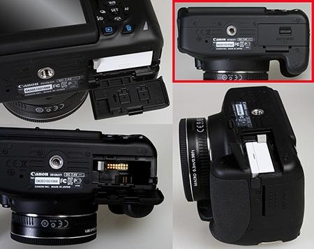 Canon EOS 650D - baterie