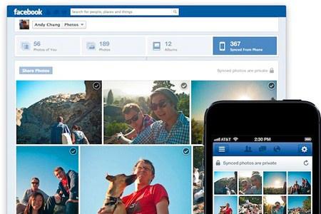 FB pro iOS a fota