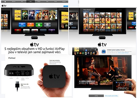AppleTV – jak na streaming nepodporovaných videoformátů z vašeho Maca