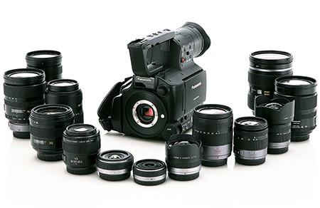 Panasonic AG-AF101A - nabídka objektivů Lumix G Micro