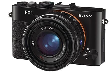 Sony Cyber-shot RX1 - klasický 3/4 pohled
