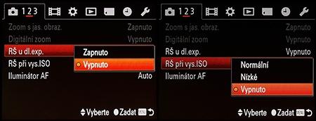 LCD: fce redukce šumu
