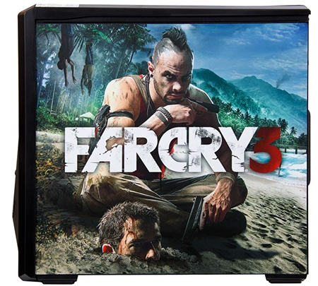 HAL3000 ve stylu akční hry Far Cry 3