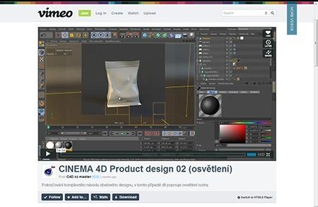 CINEMA 4D - pytlik na bonbony II - I