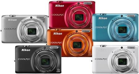 Nikon Coolpix S6500 - nabízené barvy