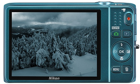 Nikon Coolpix S6500 - displej