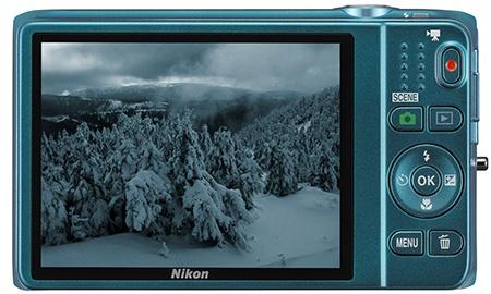 Nikon Coolpix S6500 - displej